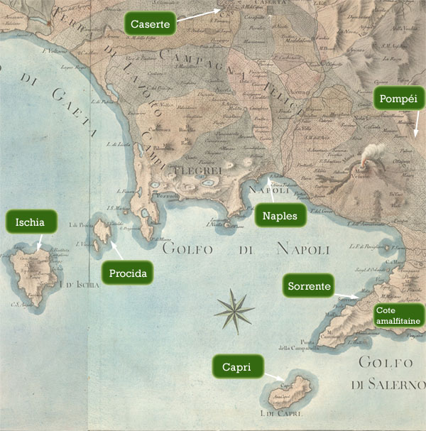 Hotels à Naples et sa région