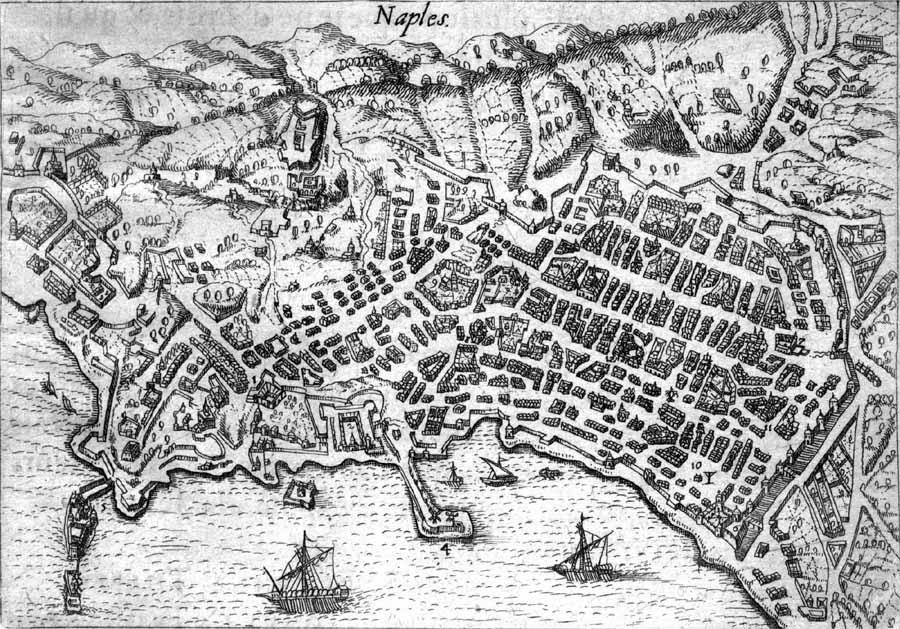 carte naples 1615