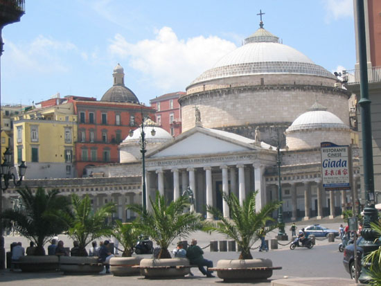 places and streets of naples