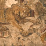 leone-e-amorini-tra-dionisio-e-amadi-casadelcentauro-pompei
