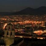 Naples de nuit, panorama