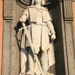 Naples, Statue de Roger le Normand