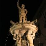 napoli, fontana del nettuno