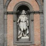 Ruggiero il normanno, palazzo reale di napoli