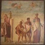 atrio, casa del poeta tragico, pompei - museo archeologico di napoli