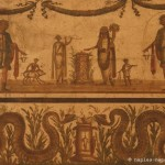dipinto, sacrificio, vii63, pompei, museo archeologico di napoli
