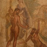 casa del centauro, villa di agrippa, pompei, museo archeologico di napoli
