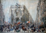 Franz Wenzel, Ingresso di Garibaldi a Napoli