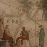 pan, casa di giasone - pompei - museo archeologico di napoli