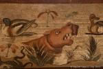 scena nilotica, casa del fauno, pompei