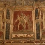 tablinum, casa di meleagro - pompei - museo archeologico di napoli