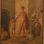 teseo minautoro, casa di gavio rufo, pompei, museo archeologico di napoli