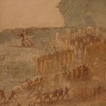 troiani danzando, pompei, ix716, museo archeologico di napoli