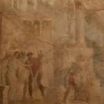 Ulisse, casa i26, Pompei, museo archeologico di napoli