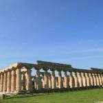 paestum, basilique, temple d'hera