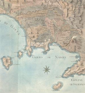 carte historique de naples