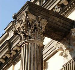 colonne corinthienne à naples