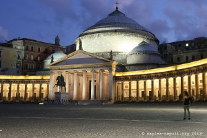 Piazza del Plebiscito, Basilica san francesco di paola