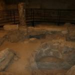 Chiesa antica romana, sotto il duomo di napoli