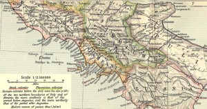 Italie du sud pendant l'antiquité