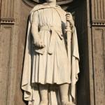 Naples, statue de Charles d'Anjou