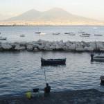 Napoli di notte, barche