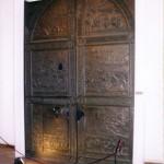 Porta antica, Castel Nuovo, Napoli