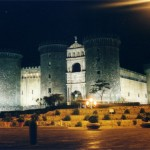 Castel Nuovo di Napoli di notte