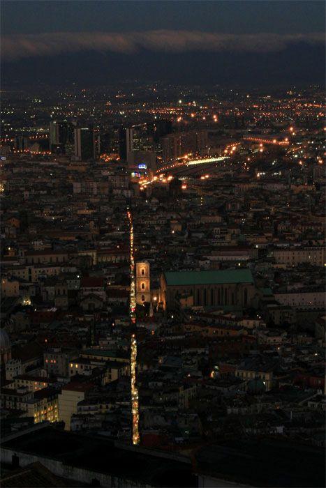 Naples Panorama - Spaccanapoli