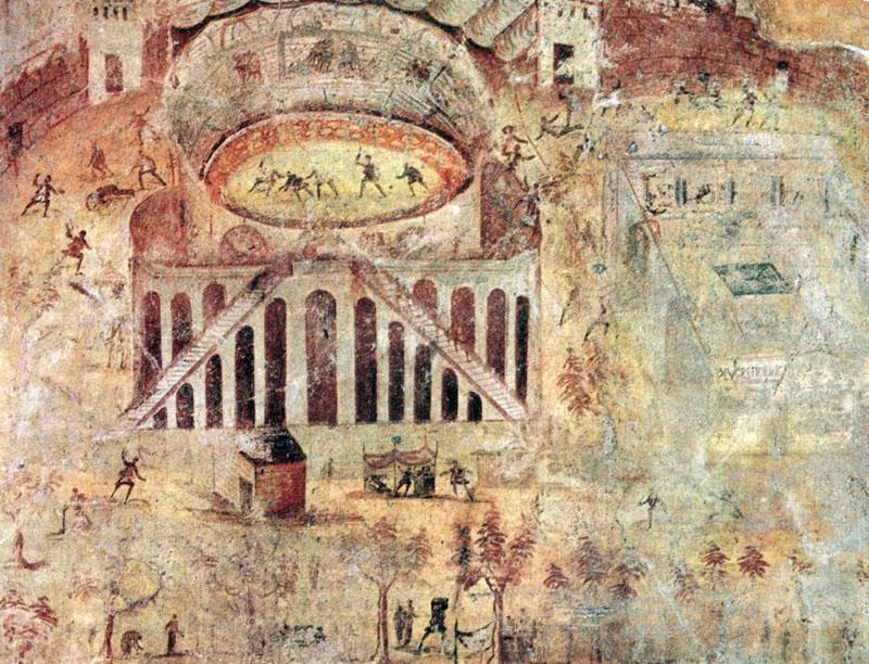 casa della rissa nell anfiteatro