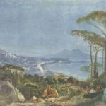 Alexander Ivanov, View of naples from the road in Pozilippe