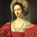 Amedee Gras, Reine Jeanne de Naples - 1842