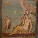 Ariane en pleurs, maison de Méléagre, Pompéi, musée archéologique de Naples