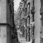 Brogio, gradini di Chiaia, Foto antica di Napoli