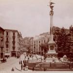 Brogio, piazza dei martiri. Foto antica