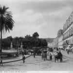 Brogio, riviera di Chiaia, villa nazionale. Foto antica di Napoli