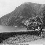 Brogi, vista su Positano, strada Amalfi-Positano