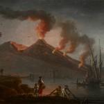 Charles-Francois la Croix de Marseille, éruption du Vésuve, 1770