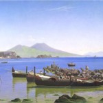 Christen Kobke, bay of naples, 1843