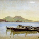 Christen Kobke, Bay of Naples, 1840