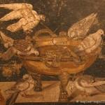 Colombes qui boivent, maison des colombes, Pompéi