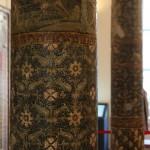 colonne a mosaico, casa delle colonne, pompei