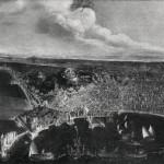 Didier Barra, veduta di napoli, XVIIe