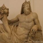 divinita fluviale, campo marzio di roma (IIe dc), museo archeologico di napoli