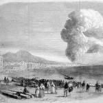 Eruption du Vesuve, 1843