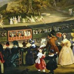 Fergole, inauguration de la gare ferroviere de portici a naples, 1839