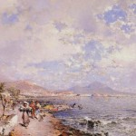 Franz Richard unterberger, the bay of naples