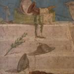 fresque pompei, musee archeologique de naples