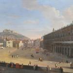 Gaspare Vanvitelli, Veduta del largo di palazzo