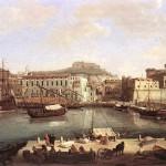 Gaspare Vanvitelli, Vista del porto di napoli, 1710